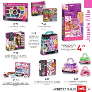 Catalogue Trafic France Noël 2015 page 57