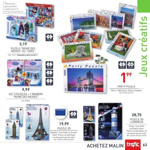 Catalogue Trafic France Noël 2015 page 63