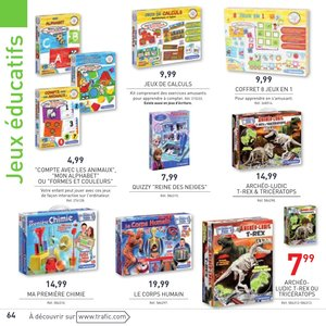Catalogue Trafic France Noël 2015 page 64