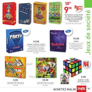 Catalogue Trafic France Noël 2015 page 71