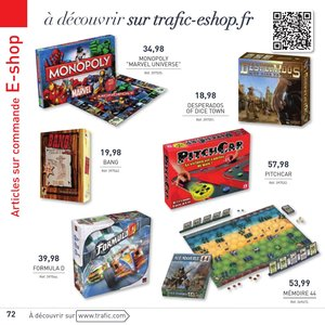 Catalogue Trafic France Noël 2015 page 72
