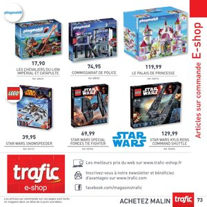 Catalogue Trafic France Noël 2015 page 73
