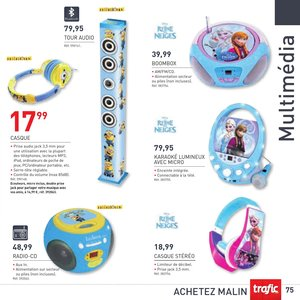 Catalogue Trafic France Noël 2015 page 75