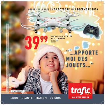 Catalogue Trafic France Noël 2016