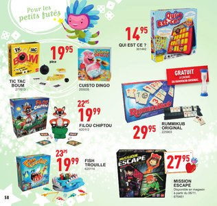 Catalogue Trafic Noël 2017 page 59