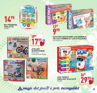 Catalogue Trafic Noël 2017 page 66