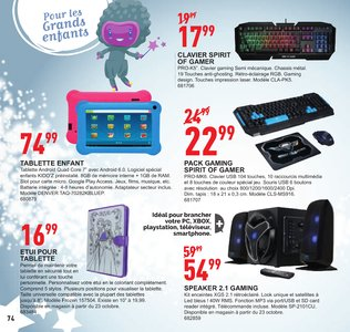 Catalogue Trafic Noël 2017 page 75