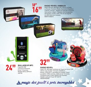 Catalogue Trafic Noël 2017 page 78