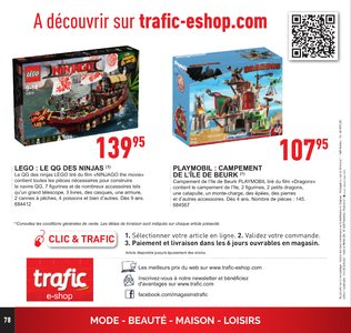 Catalogue Trafic Noël 2017 page 79
