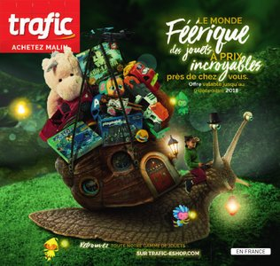 Catalogue Trafic Noël 2018 page 1