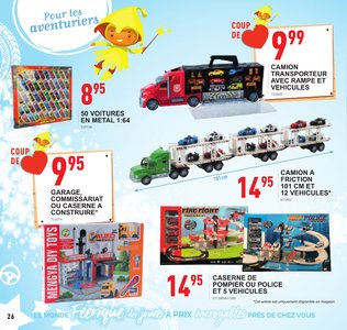 Catalogue Trafic Noël 2018 page 26