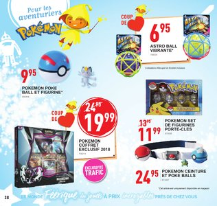 Catalogue Trafic Noël 2018 page 38