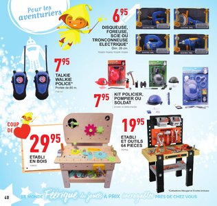 Catalogue Trafic Noël 2018 page 40