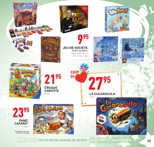 Catalogue Trafic Noël 2018 page 53