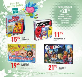 Catalogue Trafic Noël 2018 page 54