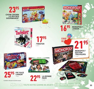 Catalogue Trafic Noël 2018 page 55