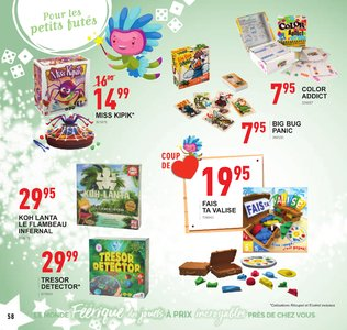 Catalogue Trafic Noël 2018 page 58