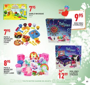 Catalogue Trafic Noël 2018 page 63