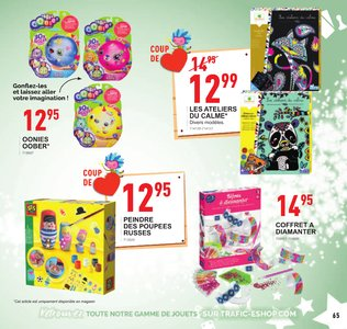 Catalogue Trafic Noël 2018 page 65
