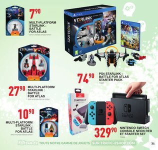 Catalogue Trafic Noël 2018 page 71