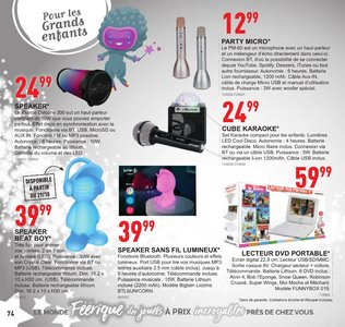 Catalogue Trafic Noël 2018 page 74